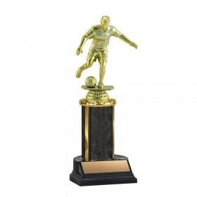 Men's Soccer Trophy TKU-130-BK-F-431