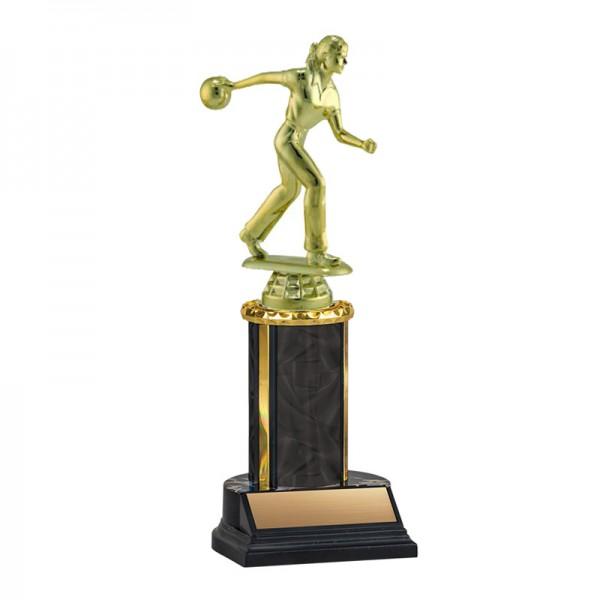 Women's Bowling Trophy TKU-130-BK-F-456F