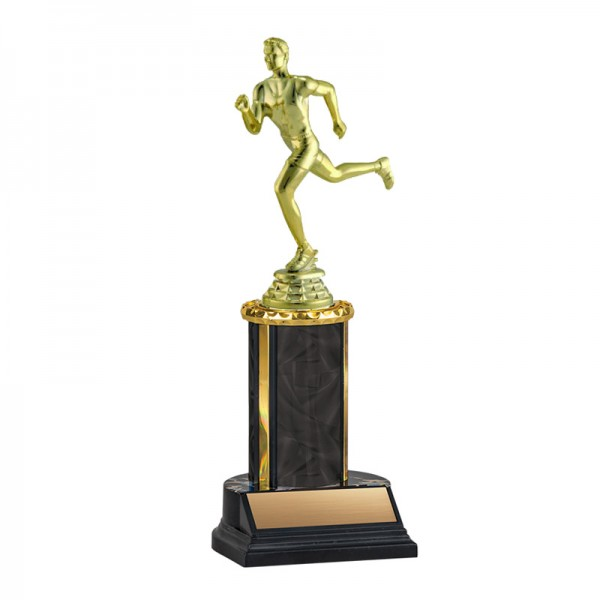 Men's Running Trophy TKU-130-BK-F-537