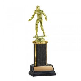 Wrestling Trophy TKU-130-BK-F-539