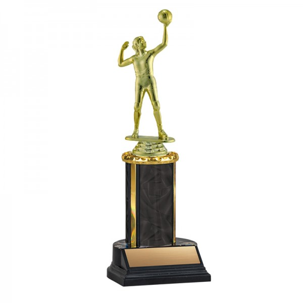 Women's Volleyball Trophy TKU-130-BK-F-550F