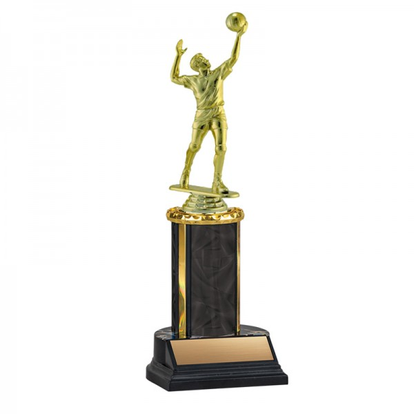 Men's Volleyball Trophy TKU-130-BK-F-551