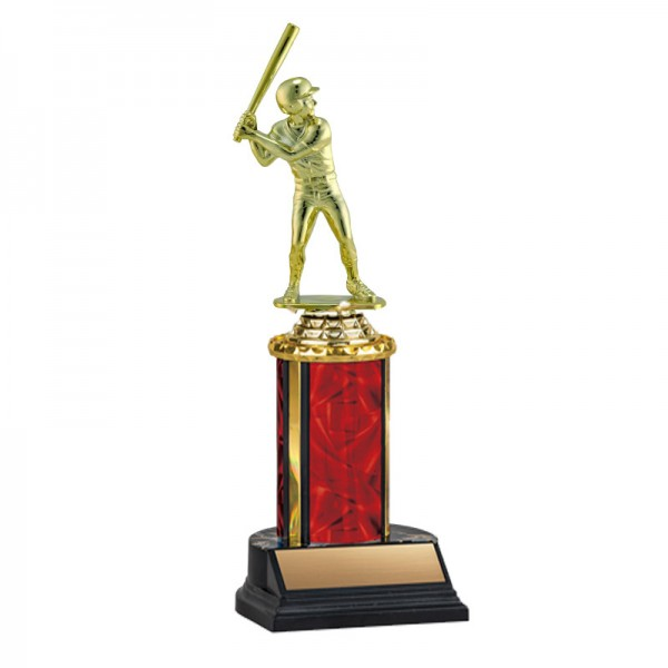 Men's Baseball Trophy TKU-130-RED-F-411