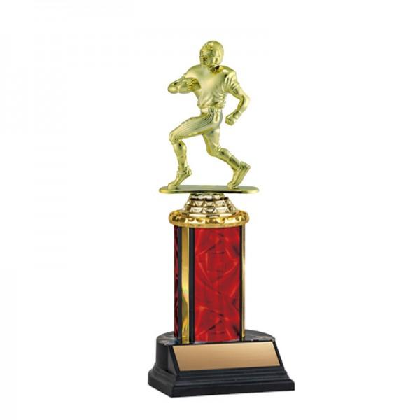 Football Trophy TKU-130-RED-F-425