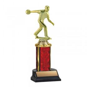 Trophée Bowling Homme TKU-130-RED-F-457