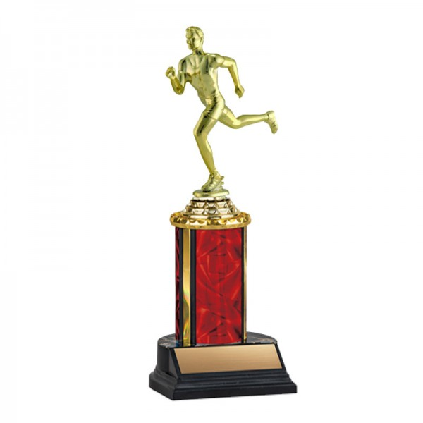 Men's Running Trophy TKU-130-RED-F-537
