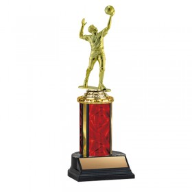 Men's Volleyball Trophy TKU-130-RED-F-551