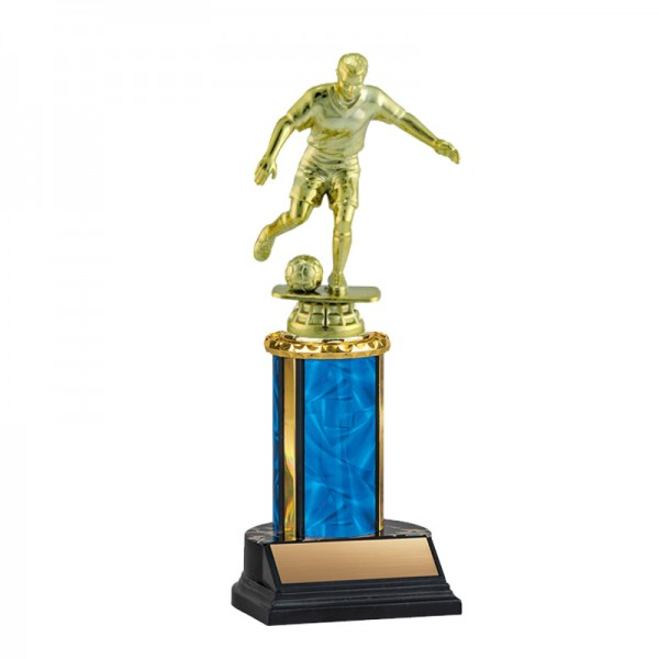 Men's Soccer Trophy TKU-130-BL-F-431