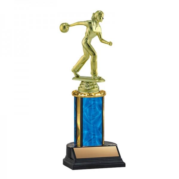 Women's Bowling Trophy TKU-130-BL-F-456F