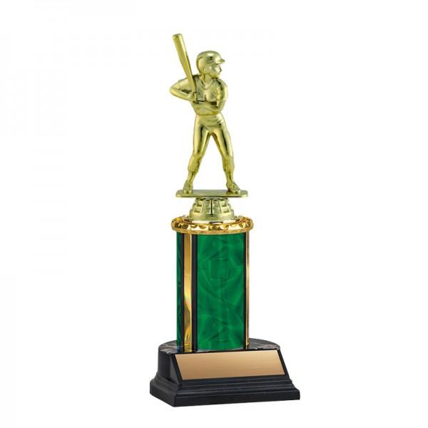 Trophée Baseball Femme TKU-130-GR-F-416F