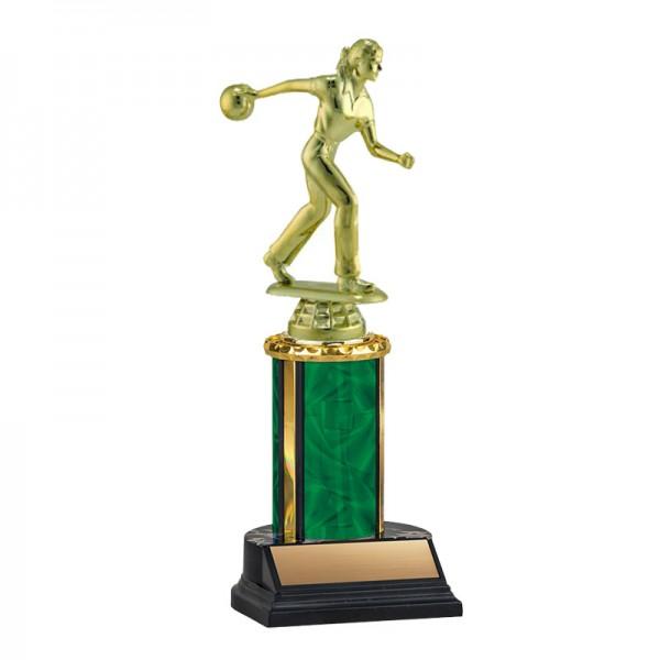 Women's Bowling Trophy TKU-130-GR-F-456F