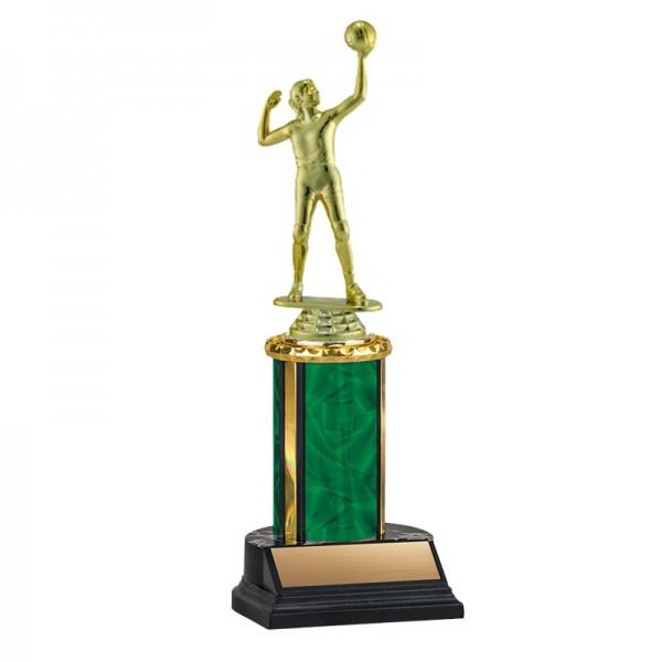 Women's Volleyball Trophy TKU-130-GR-F-550F