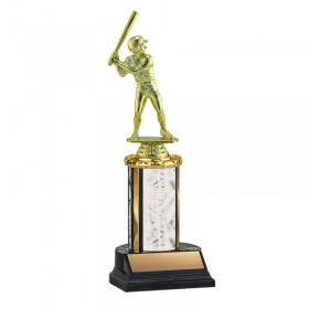 Men's Baseball Trophy TKU-130-WH-F-411