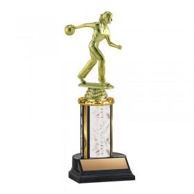 Women's Bowling Trophy TKU-130-WH-F-456F