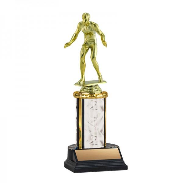Wrestling Trophy TKU-130-WH-F-539