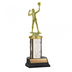 Women's Volleyball Trophy TKU-130-WH-F-550F