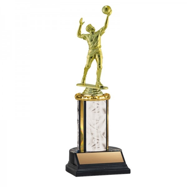 Men's Volleyball Trophy TKU-130-WH-F-551