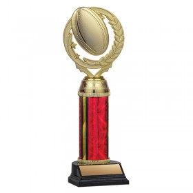 Rugby Trophy TKU131-RED-F-PXT461G