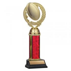 Trophée Rugby TKU131-RED-F-PXT461G