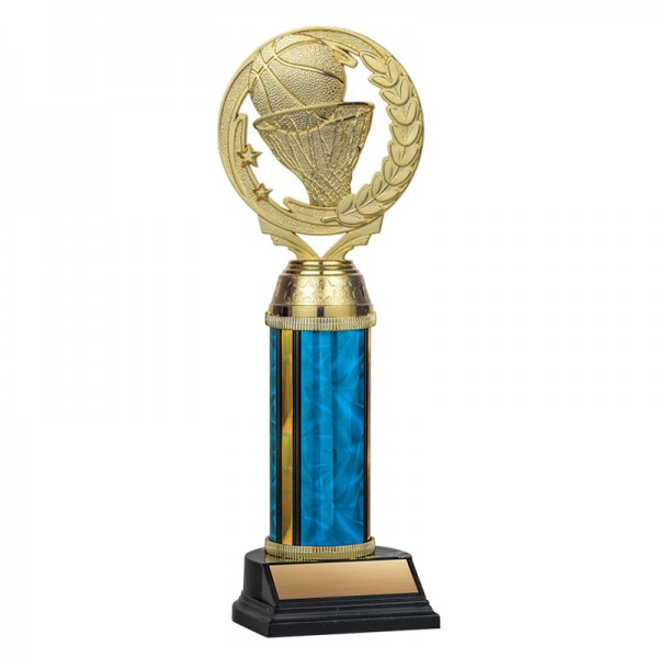 Basketball Trophy TKU131-BL-F-PXT403G