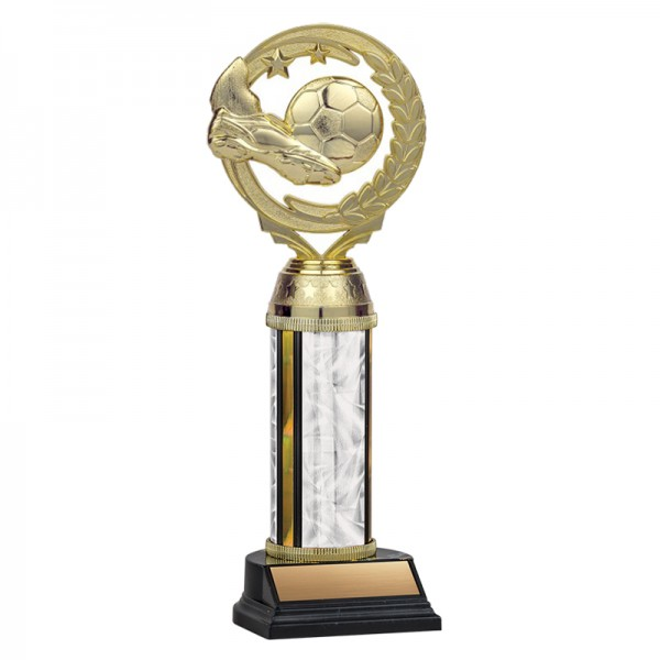 Trophée Soccer TKU131-WH-F-PXT413G