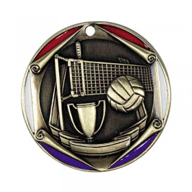 Volleyball Medal 2 in 707-932-1