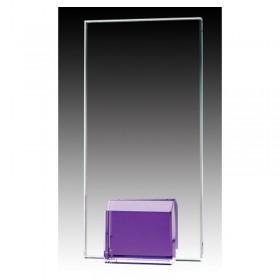 Trophée de Verre Violet GL1802A-PU