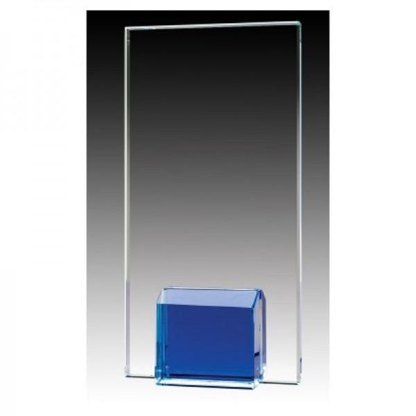 Trophée de Verre Bleu GL1803A-BU