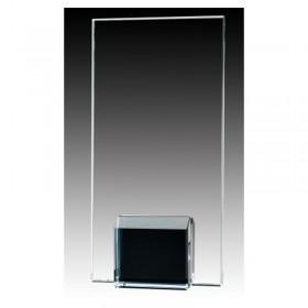 Trophée de Verre Noir GL1806A-BK