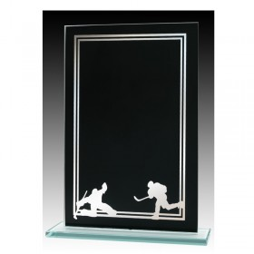 Plaque Verre Hockey GLCC0509A