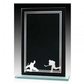 Plaque Verre Hockey GLCC0509A