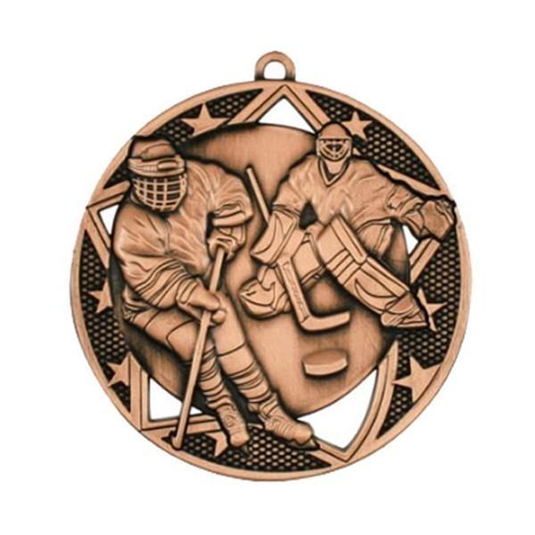 Médaille Hockey 2 3/4 po MSS610Z
