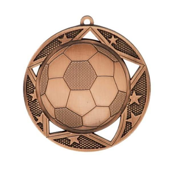 Soccer Medal 2 3/4 in MSS613Z