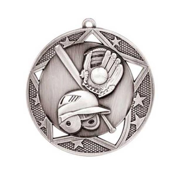 Médaille Baseball 2 3/4 po MSS602S