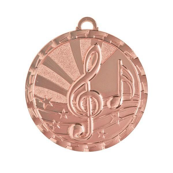 Médaille Musique 2 po GM-230Z