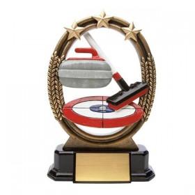 Curling Trophy ROX641