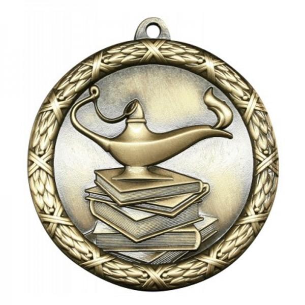 Médaille Or Académique 2 1/2 po MST412G
