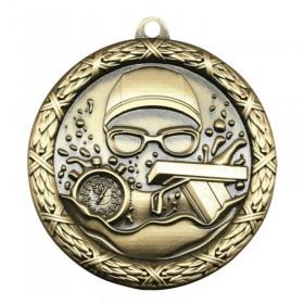 Swimming Gold Medal 2 1/2 in MST414G