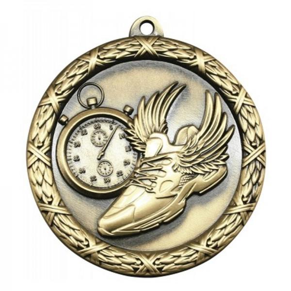 Médaille Or Course à Pied 2 1/2 po MST416G