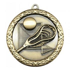 Médaille Lacrosse 2 1/4 po MST428G