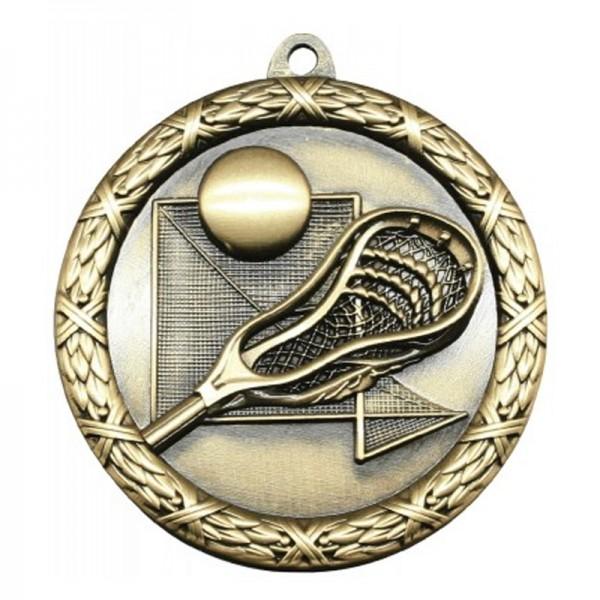 Médaille Or Lacrosse 2 1/2 po MST428G