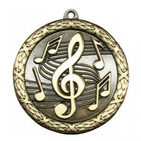 Music Gold Medal 2 1/2 in MST430G