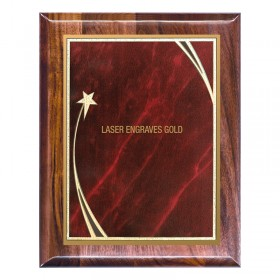 Plaque Honorifique PLW648-RED