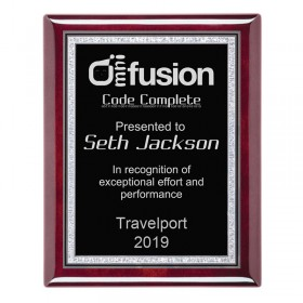 Recognition Plaque PPF560-SILVER