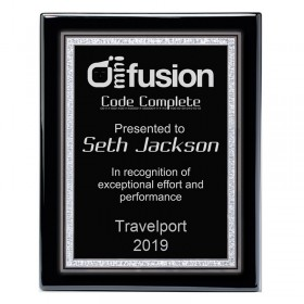 Recognition Plaque PPF560-BLACK