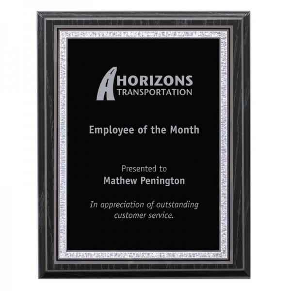 Recognition Plaque PLV509-OAK-S