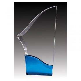 Acrylic Trophy ACG645B-BU