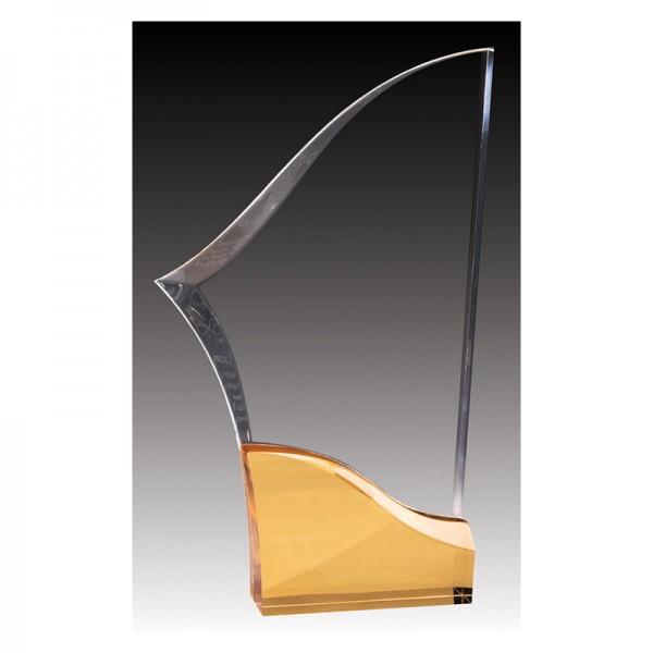 Trophée Acrylique ACG645B-G