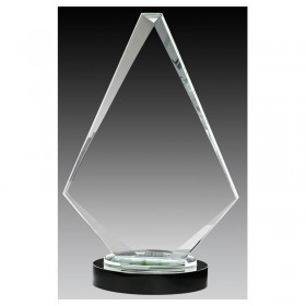 Glass Trophy GLCC18166B