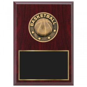 Basketball Plaque 1870A-XF0003